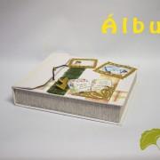 album viaje, comunión o bebé